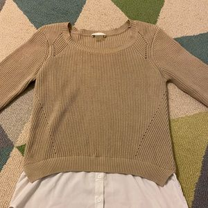 Dalia layered sweater